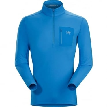 Arc-teryx Rho Lt Zip Neck Base Layer - Rigel Blue