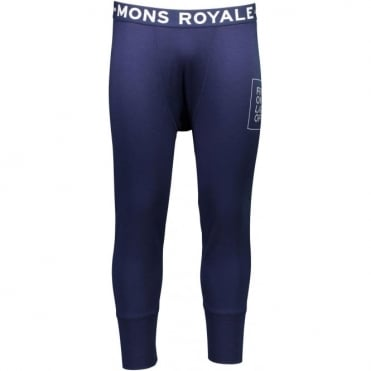 Mons Royale Shaun-Off 3/4 Long Johns FOLO - Navy