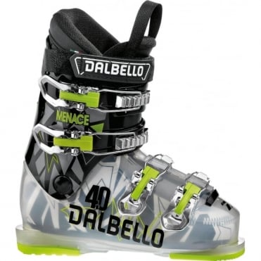 Dalbello Menace 4.0 Junior Boot - Transparent/Black (2018)