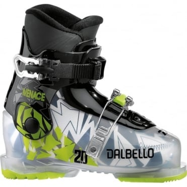 Dalbello Menace 2.0 Junior Boot - Transparent/Black (2018)