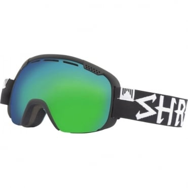 Shred Smartefy Goggles - Blackout/Cobalt Green/Plasma