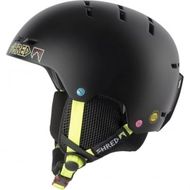 Shred Bumper Shrasta Helmet - Black
