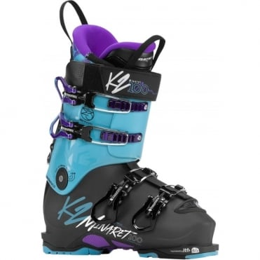 K2 Minaret 100 Women's Boot - Black/Blue (2018)