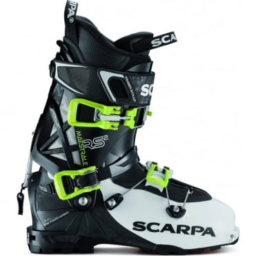 Scarpa Maestrale RS 2 Ski Touring Boot - Black/White (2018)