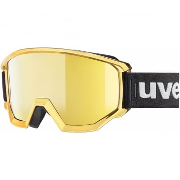 Uvex Goggle Athletic FM Olympic Gold Mirror Gold Lens