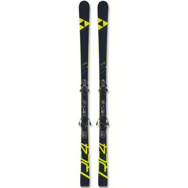 Fischer RC4 WC GS Jr Curv Booster (2019) - Ski Only