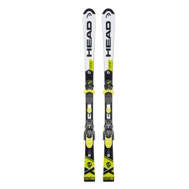 World Cup Rebels i.SL Team Junior Slalom Race Skis 144cm + EVO 11 Bindings (2018)