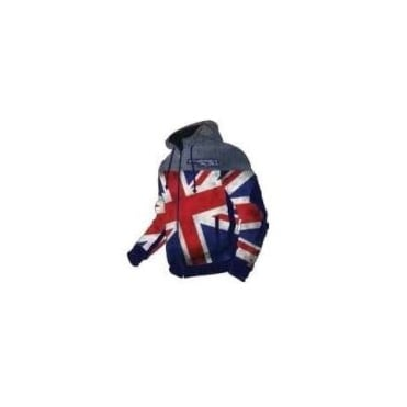 Energiapura Soft Shell Junior Training Jacket GB Flag