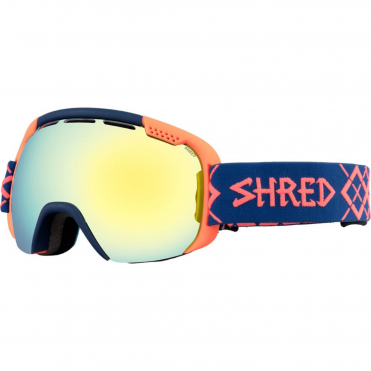 Shred Smartefy Goggles - Bigshow Navy/Rust