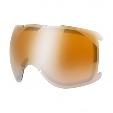 UVEX Downhill 2000 Pola HD Litemirror Double Spheric lens S3 - Silver