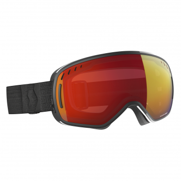 Scott LCG Goggle - Black with Enhancer Red Chrome + Illuminator Blue Chrome
