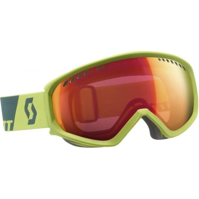 Scott Faze Goggles - Macaw Green/Alpine Green with Illuminator Red Chrome  Lens Cat  1 (last one)
