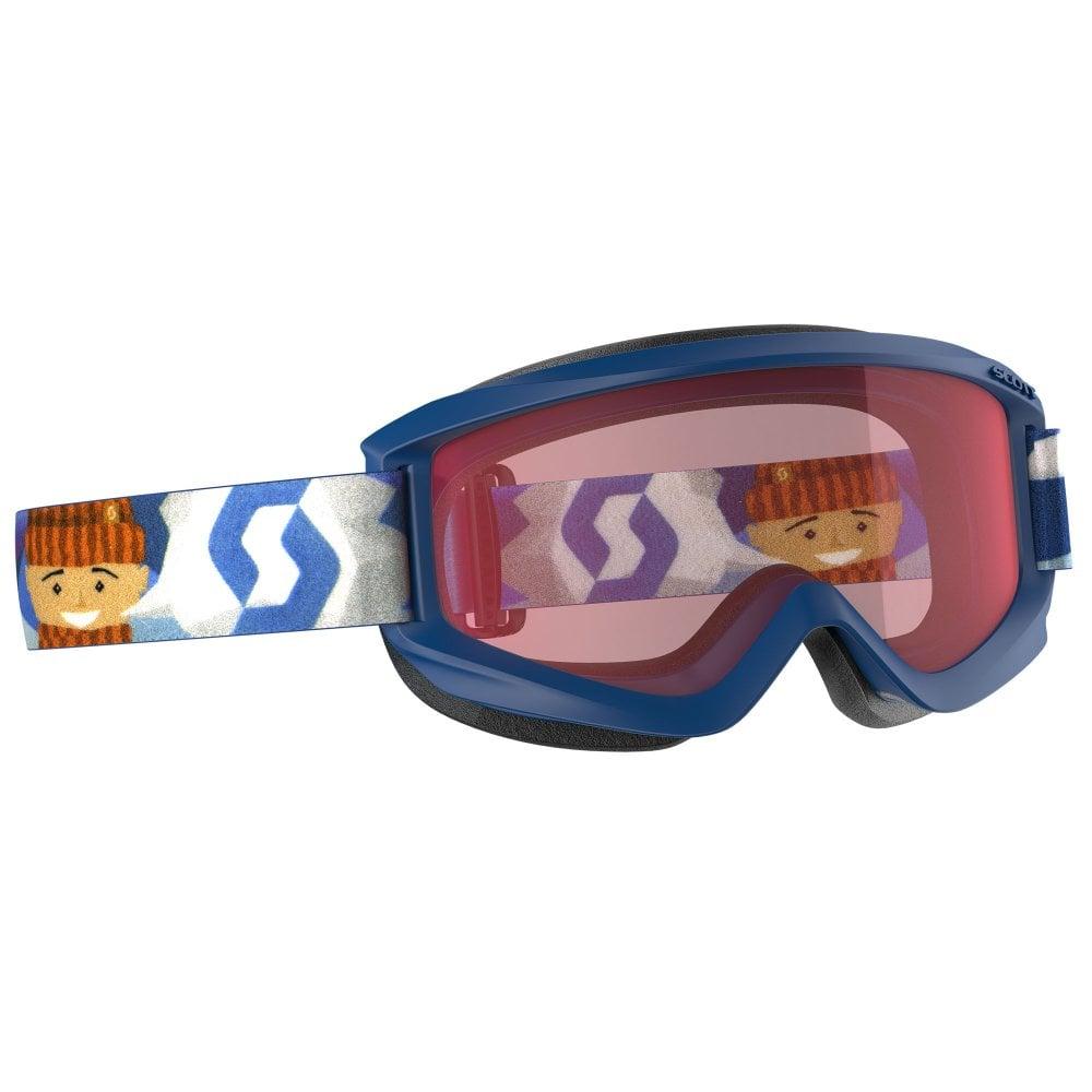 24271b96711c Scott Jr Agent Goggle - Blue with Enhancer Lens