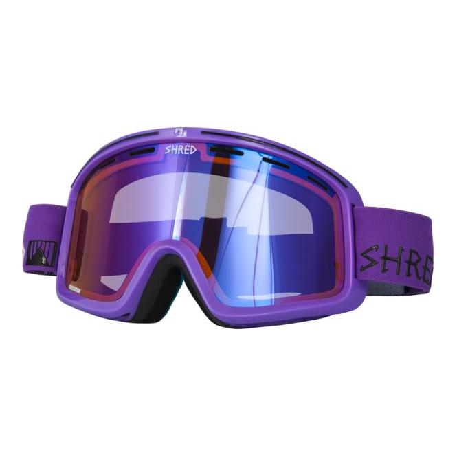 3cc34780560 Shred Monocle Goggles - Gaper Purple - Ski Goggles from Ski Bartlett UK