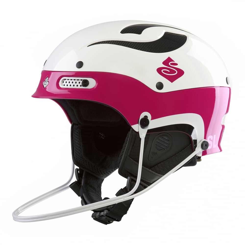 1feeef28 Sweet Protection Trooper SL Helmet - Gloss White /Gloss Pink - Race ...