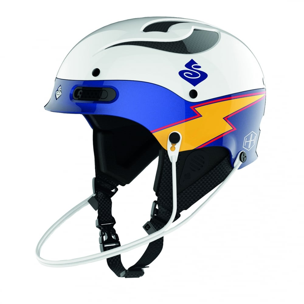 666de7a2 Sweet Protection Trooper SL Team Edition MIPS Helmet - White / Blue ...