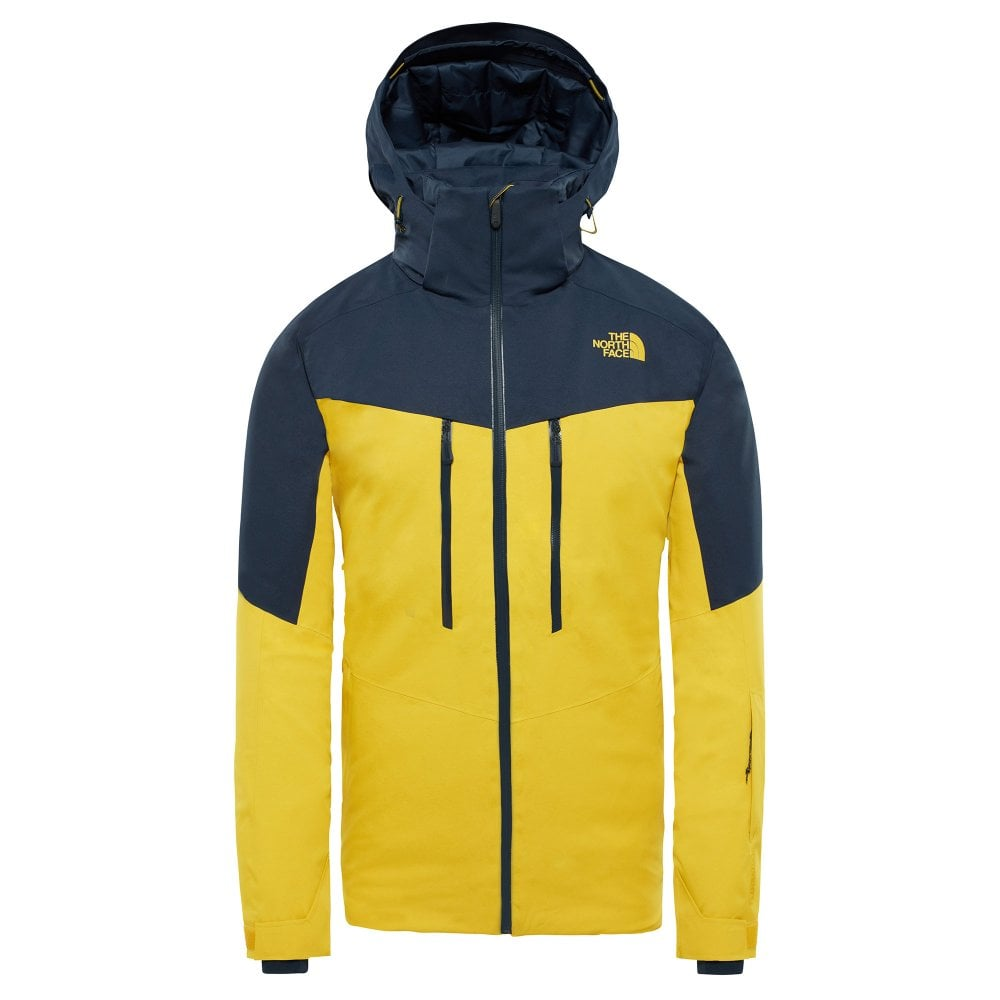 13828b8dd The North Face The North Face Chakal Men's Ski Jacket - Yellow/Navy